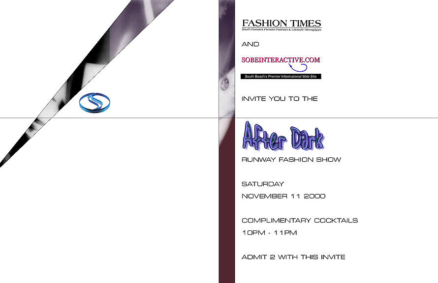 After Dark Runway Fashion Show at Club Space