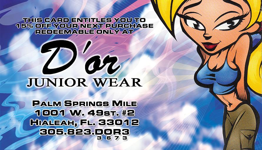 D'or Junior Wear