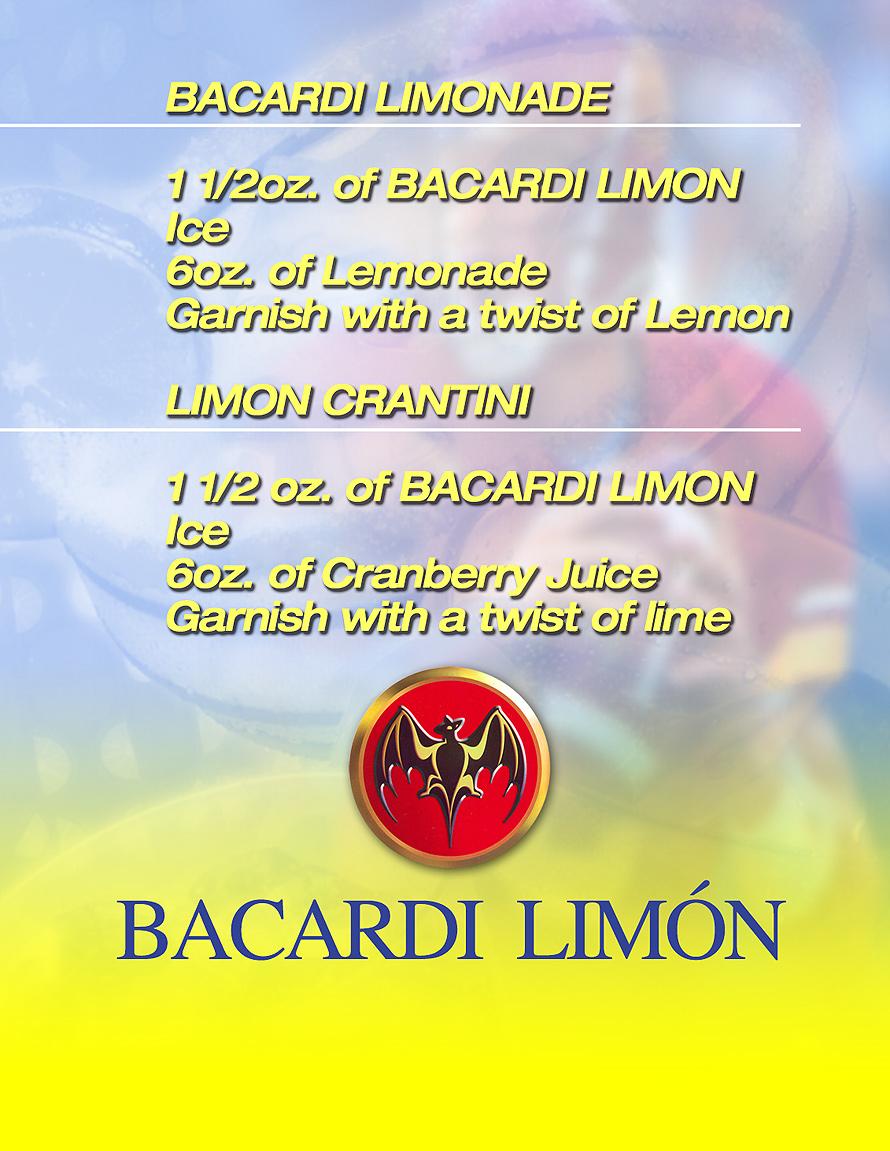 Bacardi Limon Drink Recipe