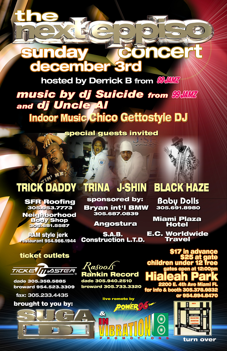 The Next Eppiso Concert at Hialeah Park