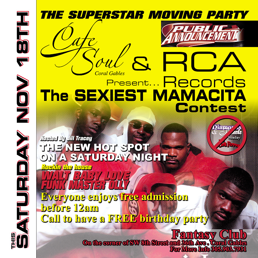 The Superstar Moving Party at The Fantasy Nightclub