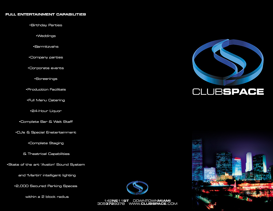 Club Space Entertainment Promo