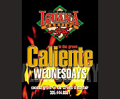 Caliente Wednesdays at Cafe Iguana in Coconut Grove - tagged with flames