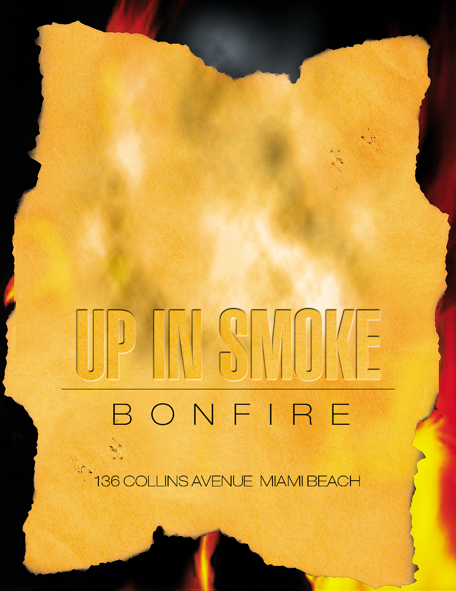 Up In Smoke Bonfire at D'Vox