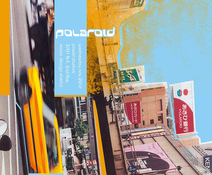 Polaroid Wednesday at Power Studios