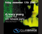 DJ Tracy Young CD Release Party at Club Space - tagged with madonna