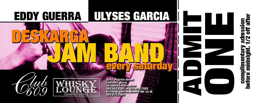 Deskarga Jam Band Live at Club 609 and Whisky Lounge