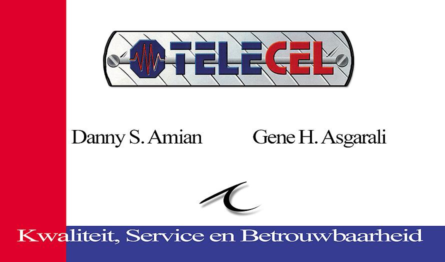 Telecel Suriname Business Card