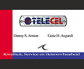 Telecel Suriname Business Card - created November 20, 2000