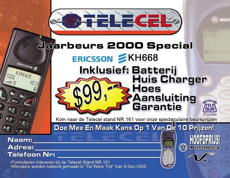 Telecel Suriname Promo