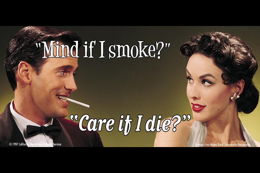Tobacco Free Postcard