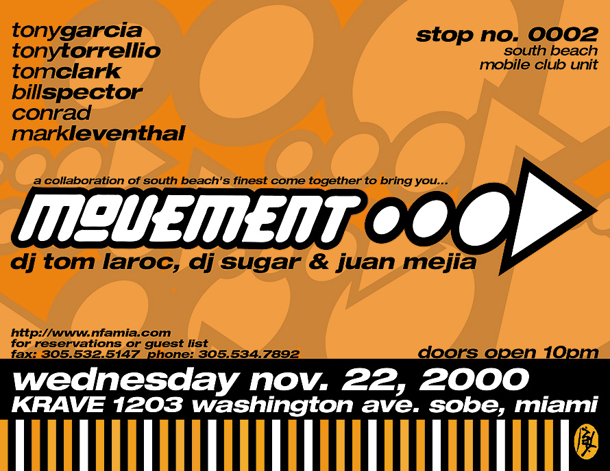 Movement at Krave