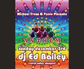 Anthem Ed Bailey at Crobar - Gay and Lesbian Graphic Designs
