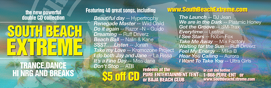 Baja Beach Club World's Favorite Party Bar CD Collection