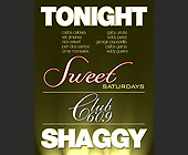 Shaggy at Club 609 - tagged with sweet