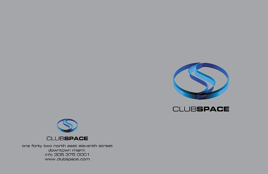 Club Space Postcard
