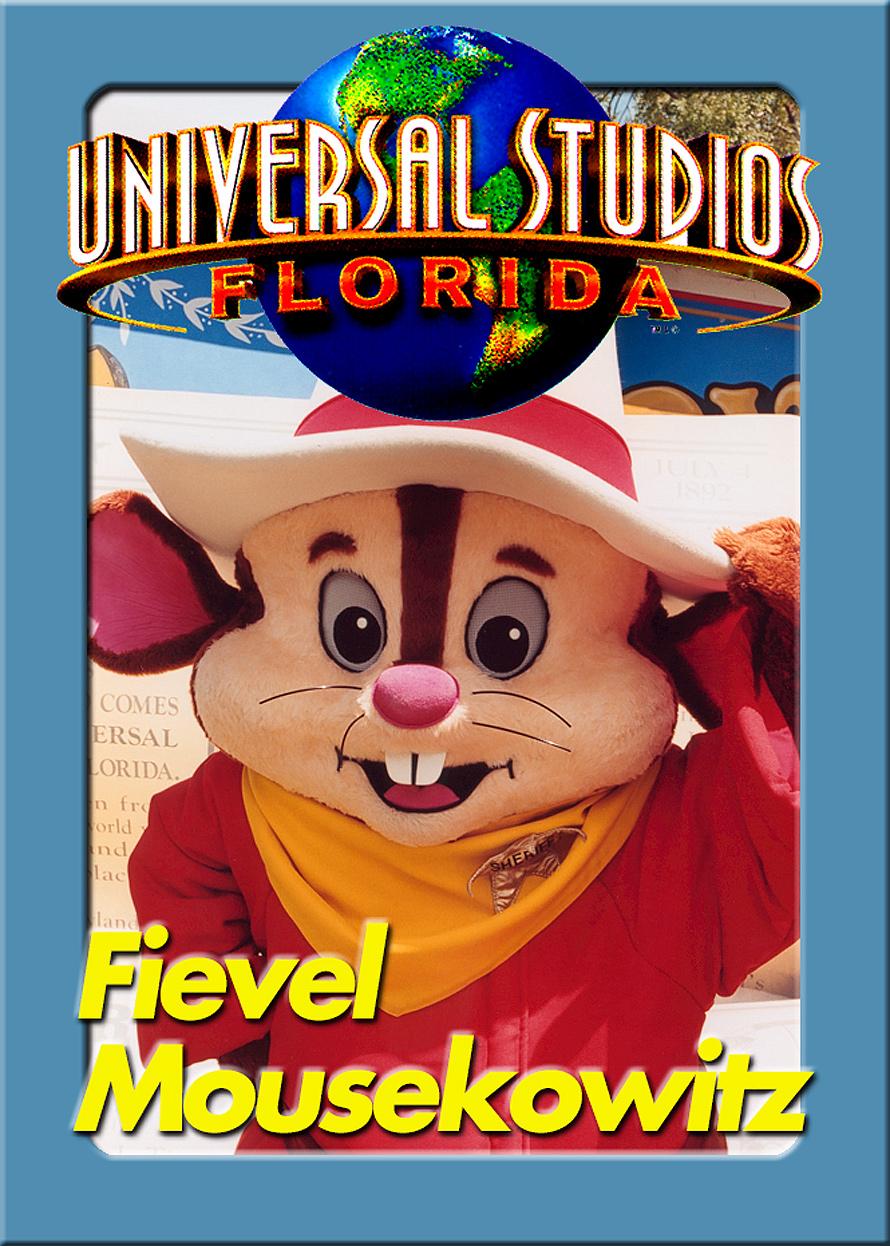 Universal Studios Trading Cards Fievel Mousekowitz