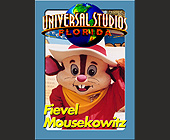 Universal Studios Trading Cards Fievel Mousekowitz - tagged with characters