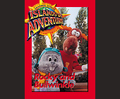 Rocky and Bullwinkle Biography Card - tagged with 2.5 x 3.5