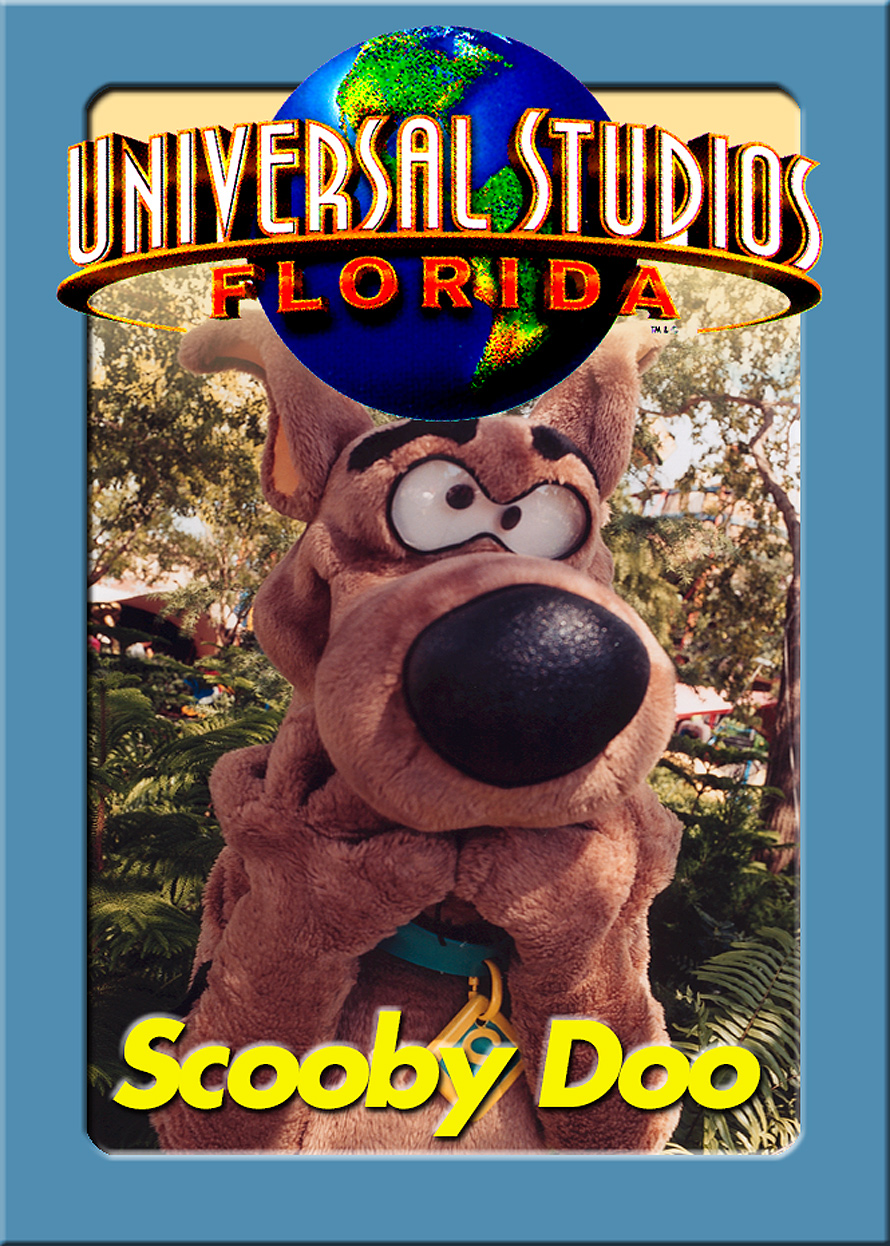 Universal Studios Trading Cards Scooby Doo