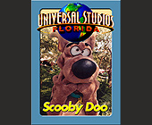Universal Studios Trading Cards Scooby Doo - Amusement Park Graphic Designs