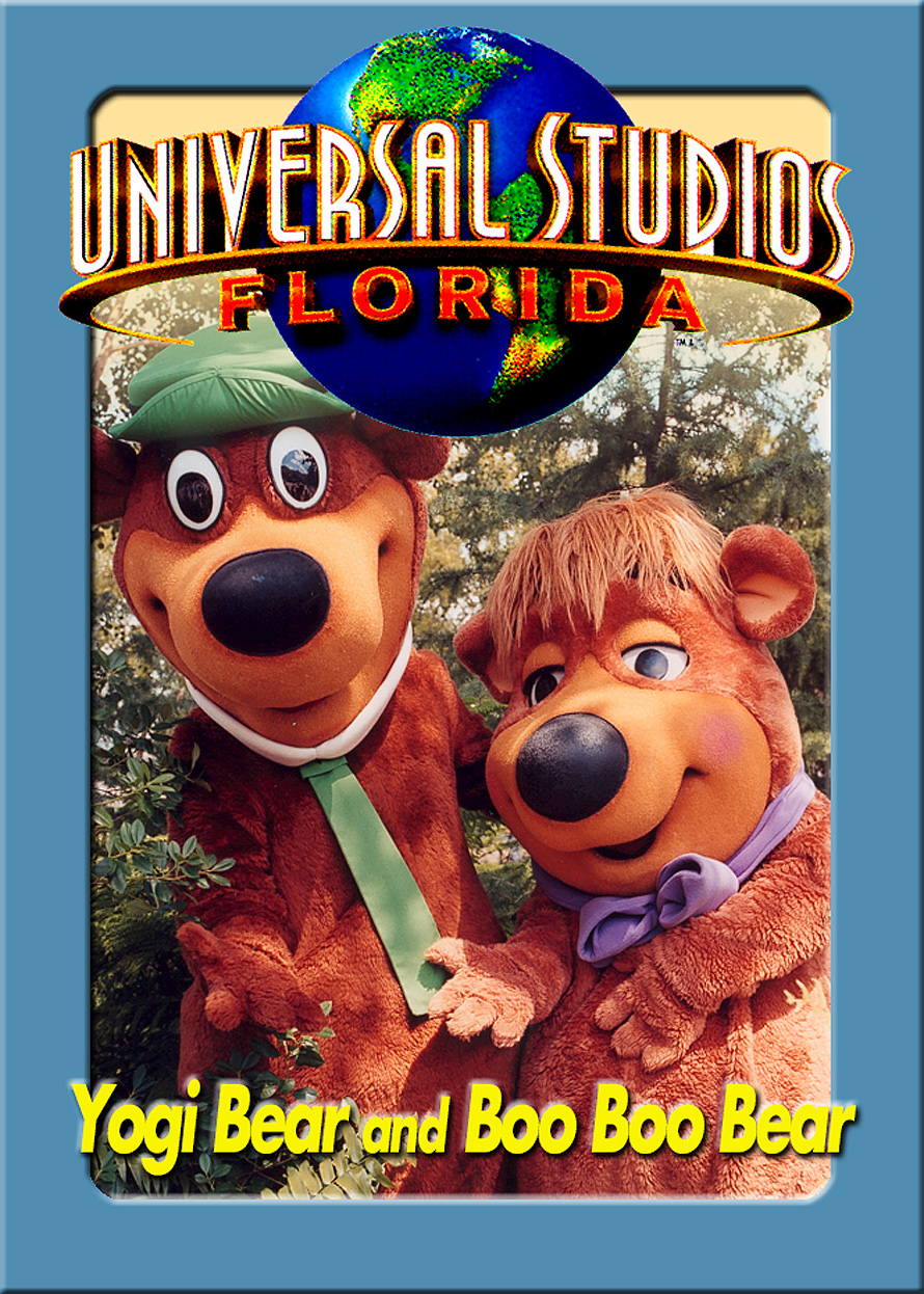 Universal Studios Trading Cards Yogi and Boo Boo Bear