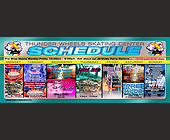 Thunder Wheels Weekly Schedule Miami - Skating Graphic Designs