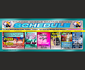 Thunder Wheels Hialeah Weekly Schedule - Skating Graphic Designs