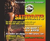 Planet Reggae at Bijan's on the River - Wilderness Grill Graphic Designs
