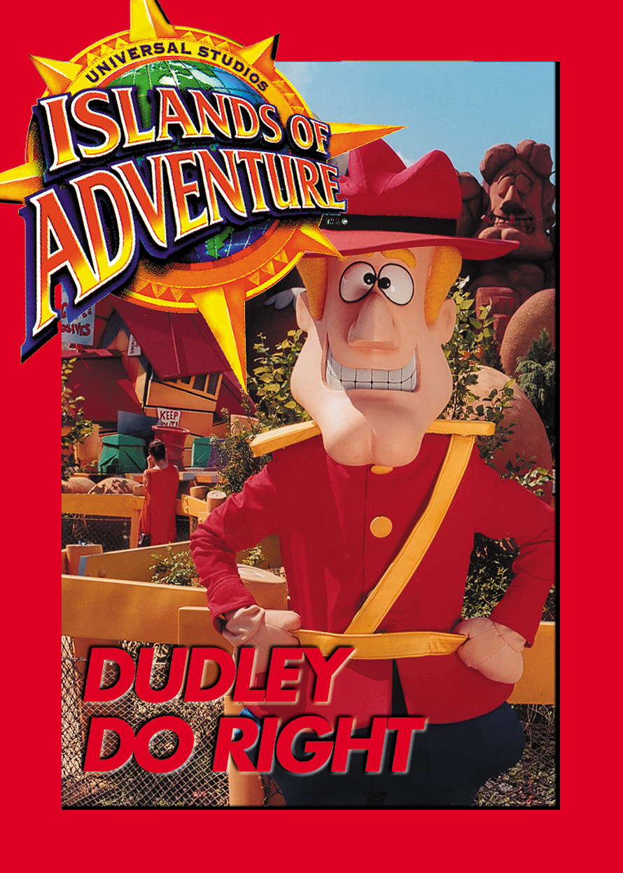 Universal Studios Trading Cards Dudley Do Right