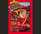 Universal Studios Trading Cards Dudley Do Right - Amusement Park Graphic Designs