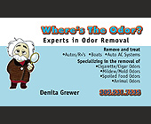 Wheres the Odor? - tagged with where