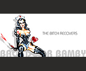 Back Door Bamby Recovers at Crobar - 825x1650 graphic design
