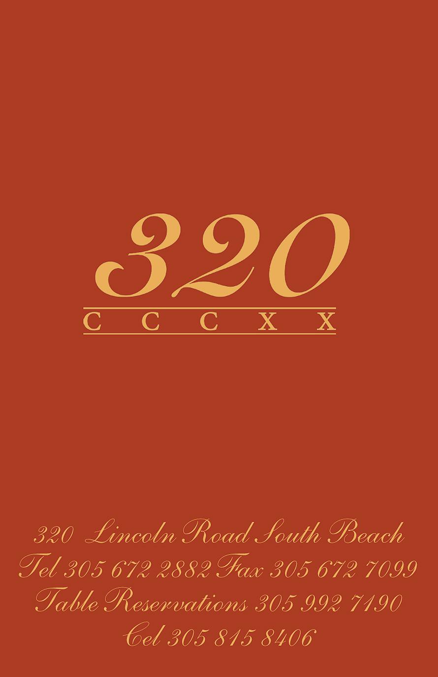 320 CCCXX Birthday Celebration