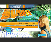 Thursdays at The Groove Lounge - The Groove Lounge Graphic Designs