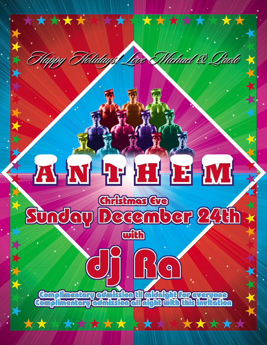 Christmas Eve Anthem at Crobar