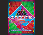 Christmas Eve Anthem at Crobar - Gay and Lesbian Graphic Designs