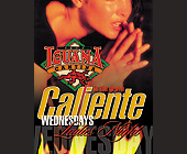 Caliente Wednesday Ladies Night at Cafe Iguana Cantina - tagged with flames