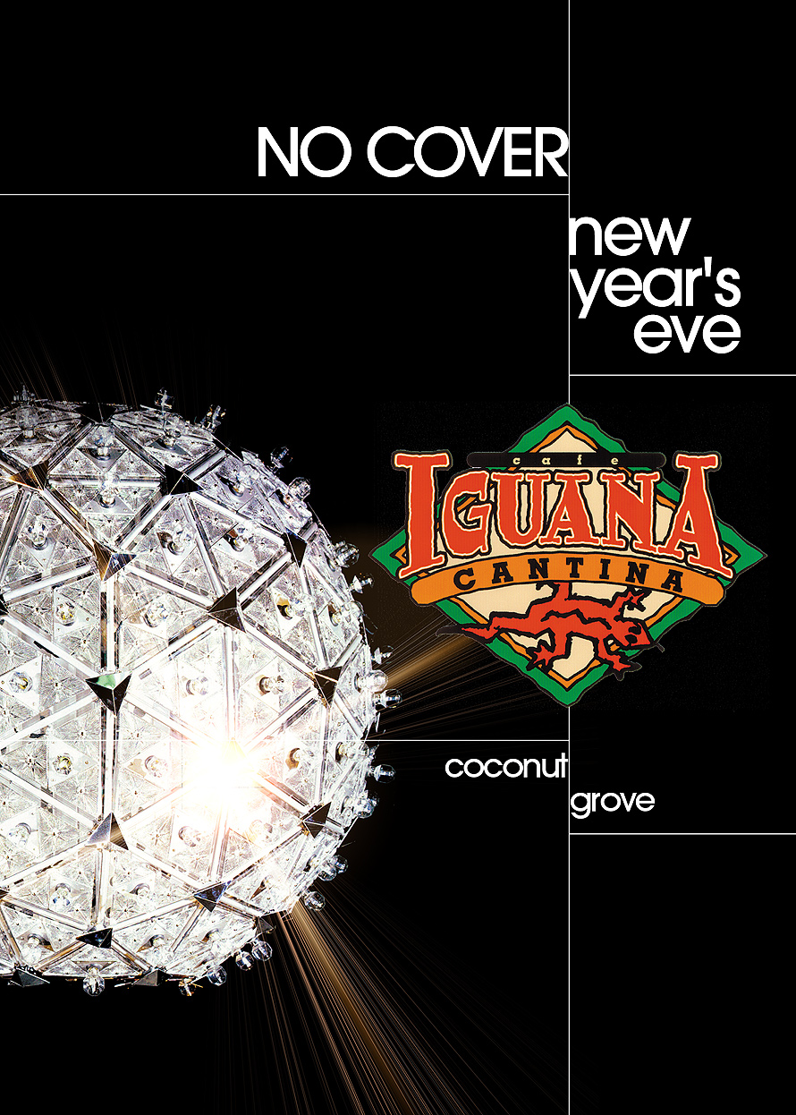 New Years Eve at Cafe Iguna Cantina in Coconut Grove