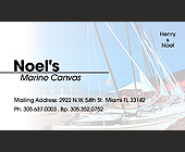 Noel's Marine Canvas - Marine and Boating Graphic Designs
