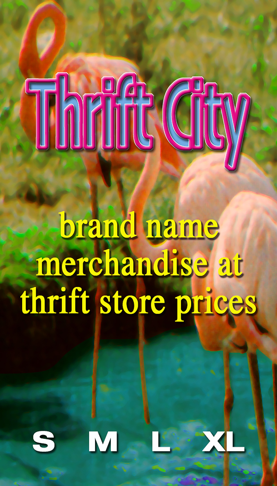 Thrift City Clothing Tag