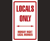 Monday Night Local Member at Club Space - Downtown Miami Graphic Designs