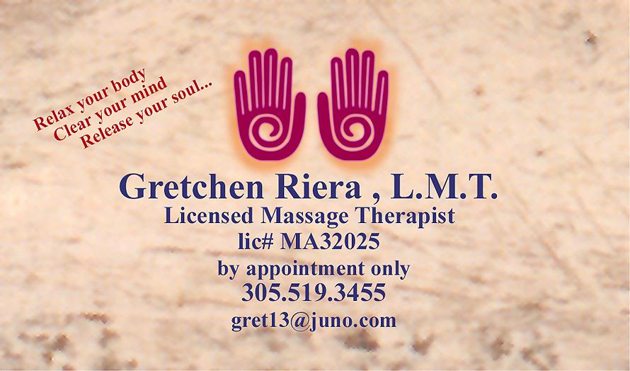 Gretchen Riera Massage Therapist