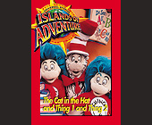 Universal Studios Trading Cards The Cat in the Hat - Amusement Park Graphic Designs
