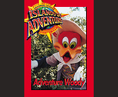 Universal Studios Trading Cards Adventure Woody - tagged with fast facts