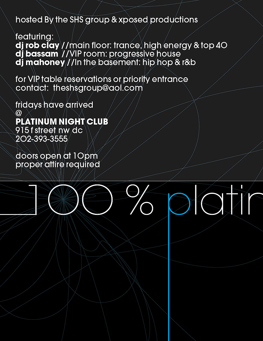 Fridays at Platinum Nightclub