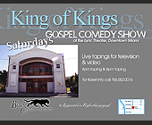 King of Kings Gospel Comedy Show - tagged with www.blackcatentertainment.com