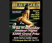 Rainbow Tuesdays at Black Gold - Black Gold Adult Club Graphic Designs