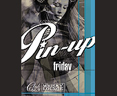 Pin Up Fridays at Club 609 - 1200x1575 graphic design