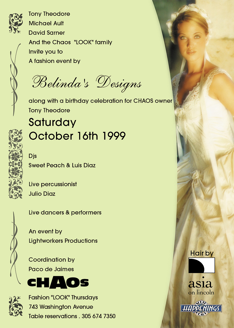Look Fashion Event by Belinda's Designs at Chaos